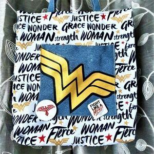 DC Wonder Woman Logo Tote